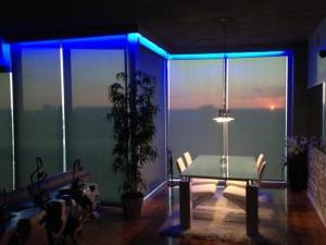 Qmotion shades stunning photo atlanta blind and shade for Motorized solar shades reviews